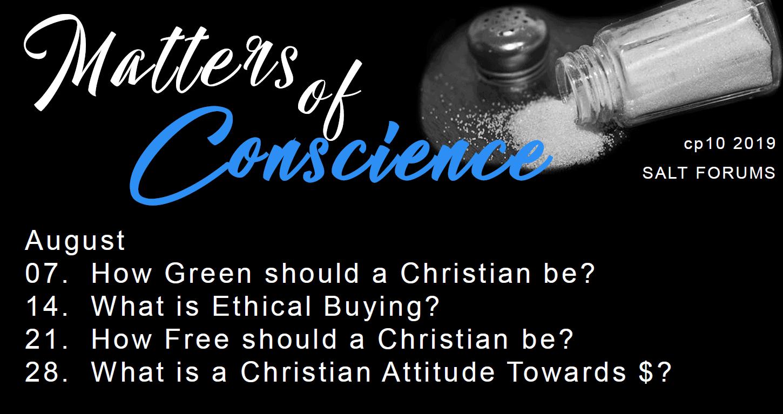 SALT - Matters of Conscience