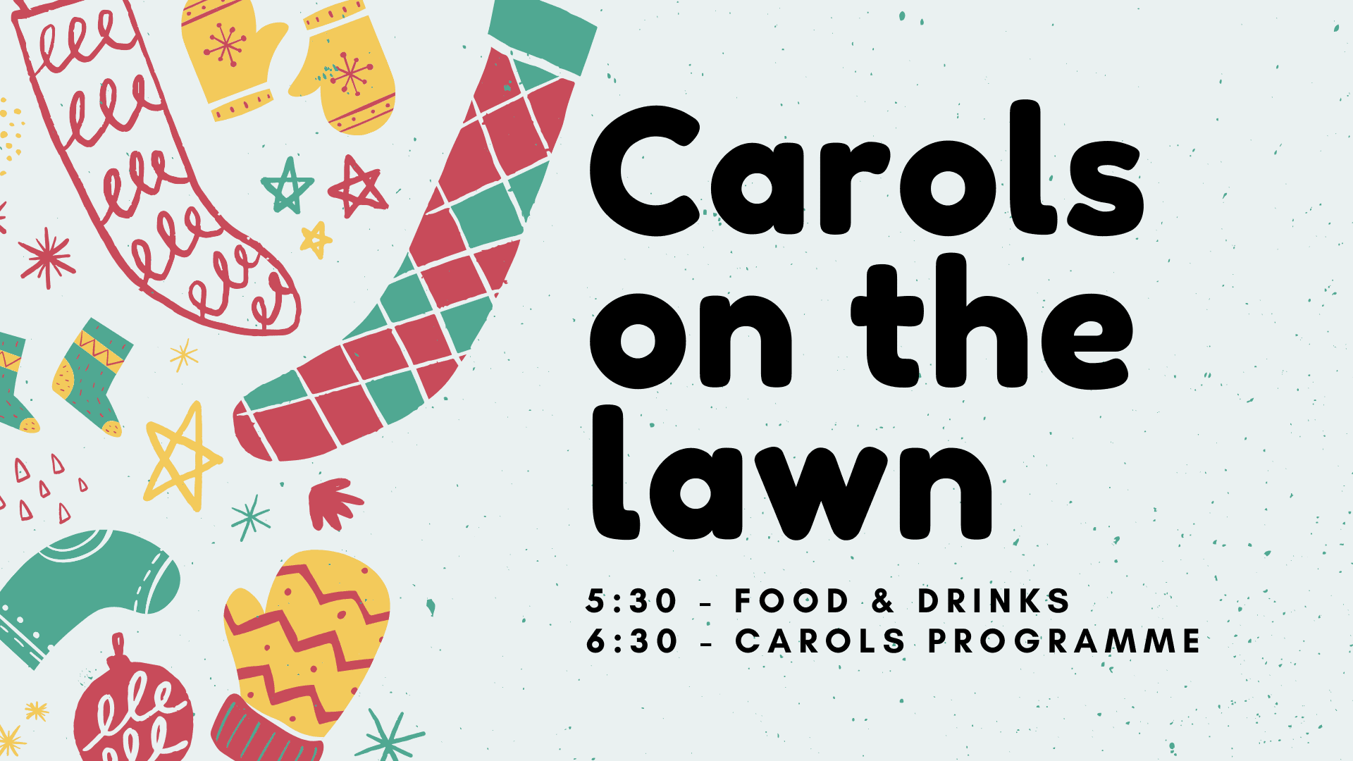 Carols on the Lawn - Sunday Dec 22