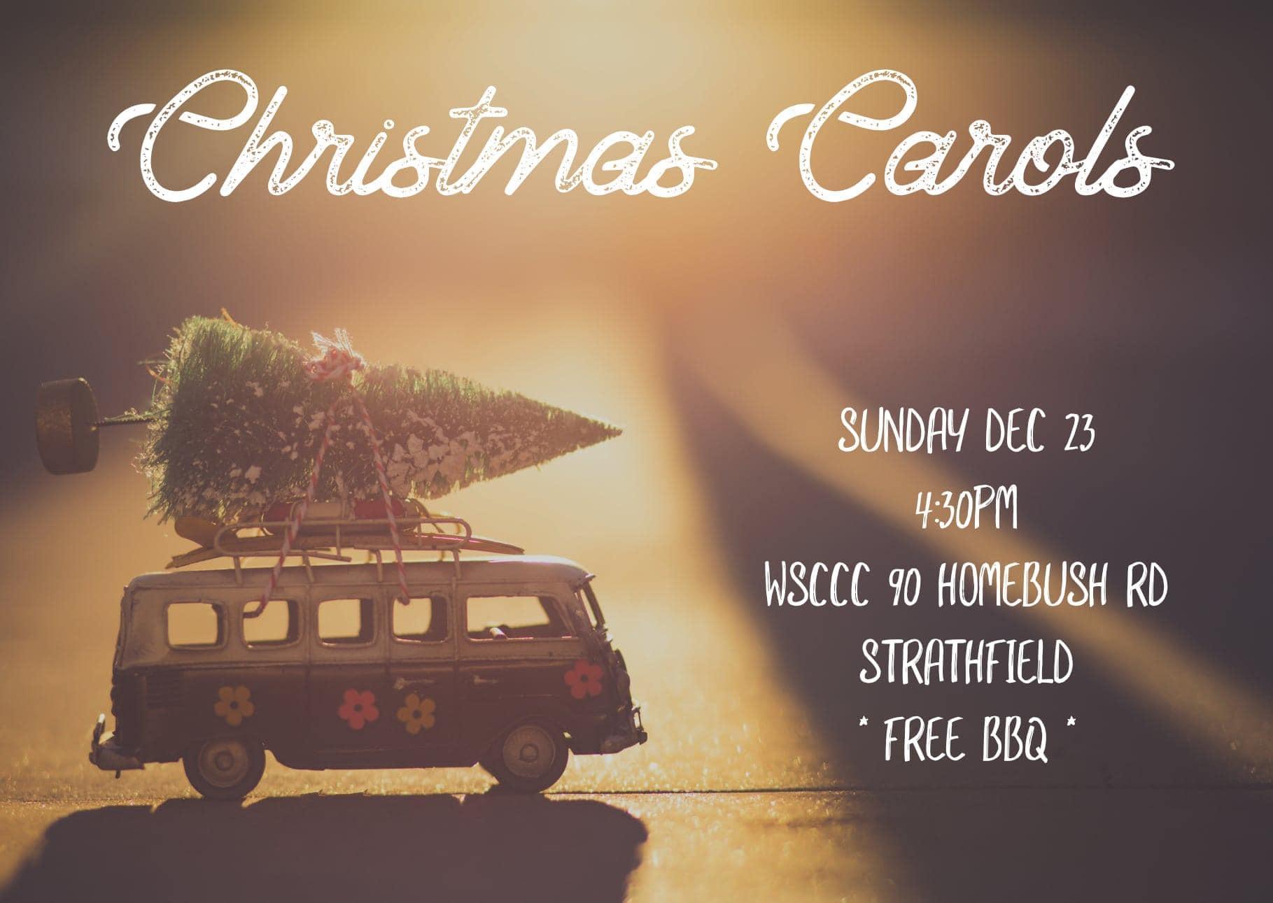 Christmas Carols & BBQ